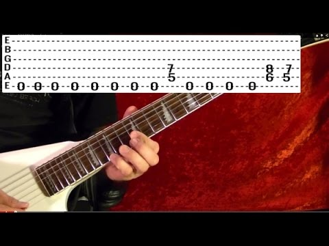 Dr Who Tv Show Theme Guitar Lesson Youtube
