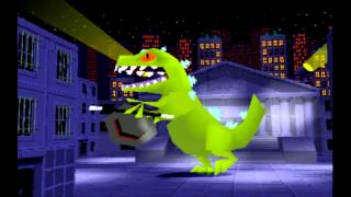 Rugrats Search For Reptar Final Level 11 Reptar Solo