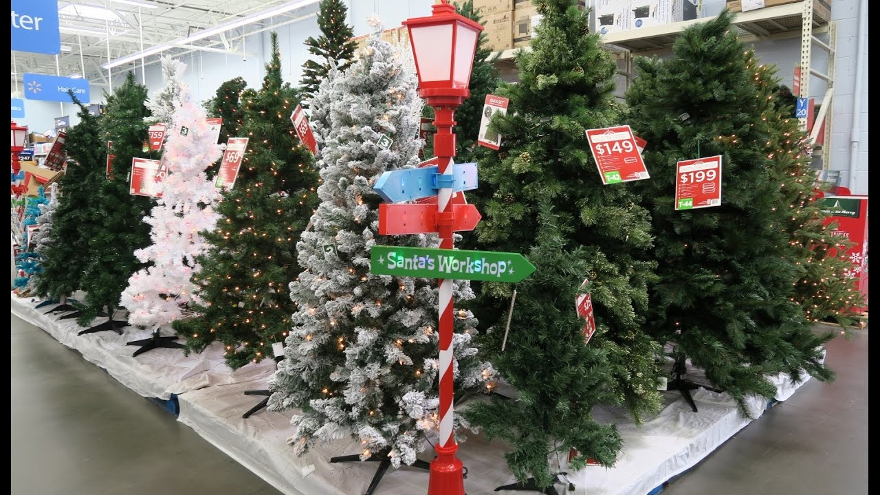 Christmas Décor at Walmart 2016 - YouTube