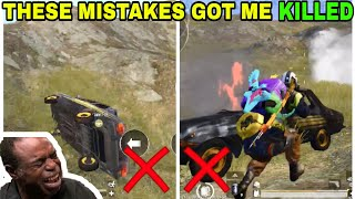 THESE MISTAKES GOT ME KILLED • (17 KILLS) • PUBG MOBILE GAMEPLAY TIPS AND TRICKS