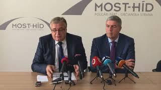 Béla Bugár a Ivan Švejna o ďalších opatreniach strany Most-Híd pre seniorov
