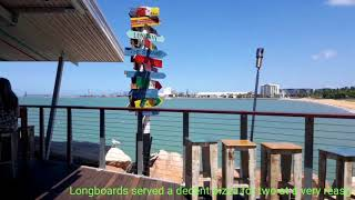Day walk at the famous Strand Boulevard in Townsville Queensland Australia