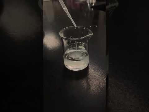 adding barium nitrate
