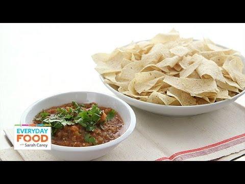 Roasted Salsa Recipe - Everyday Food with Sarah Carey