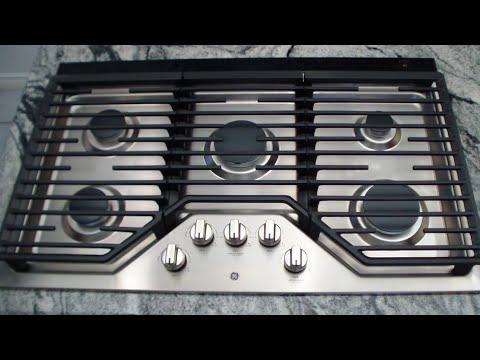 "GE JPG5036 36"" Gas Cooktop Review"