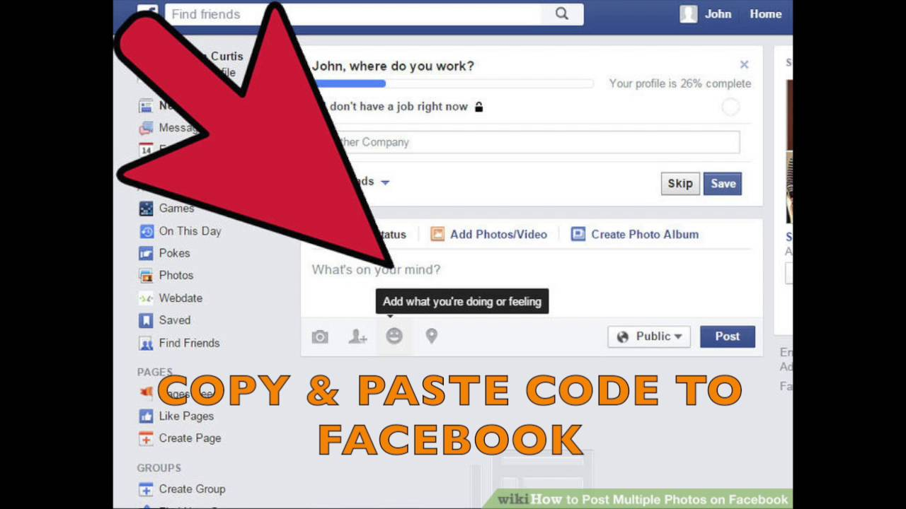 CoupleStuffs com Affiliate Program - How to Promote Your Referral Link on  Facebook
