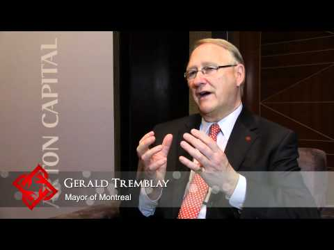 Executive Focus: Gerald Tremblay, Mayor of Montreal