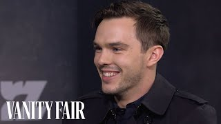 nicholas hoult reveals his surprising secret talent