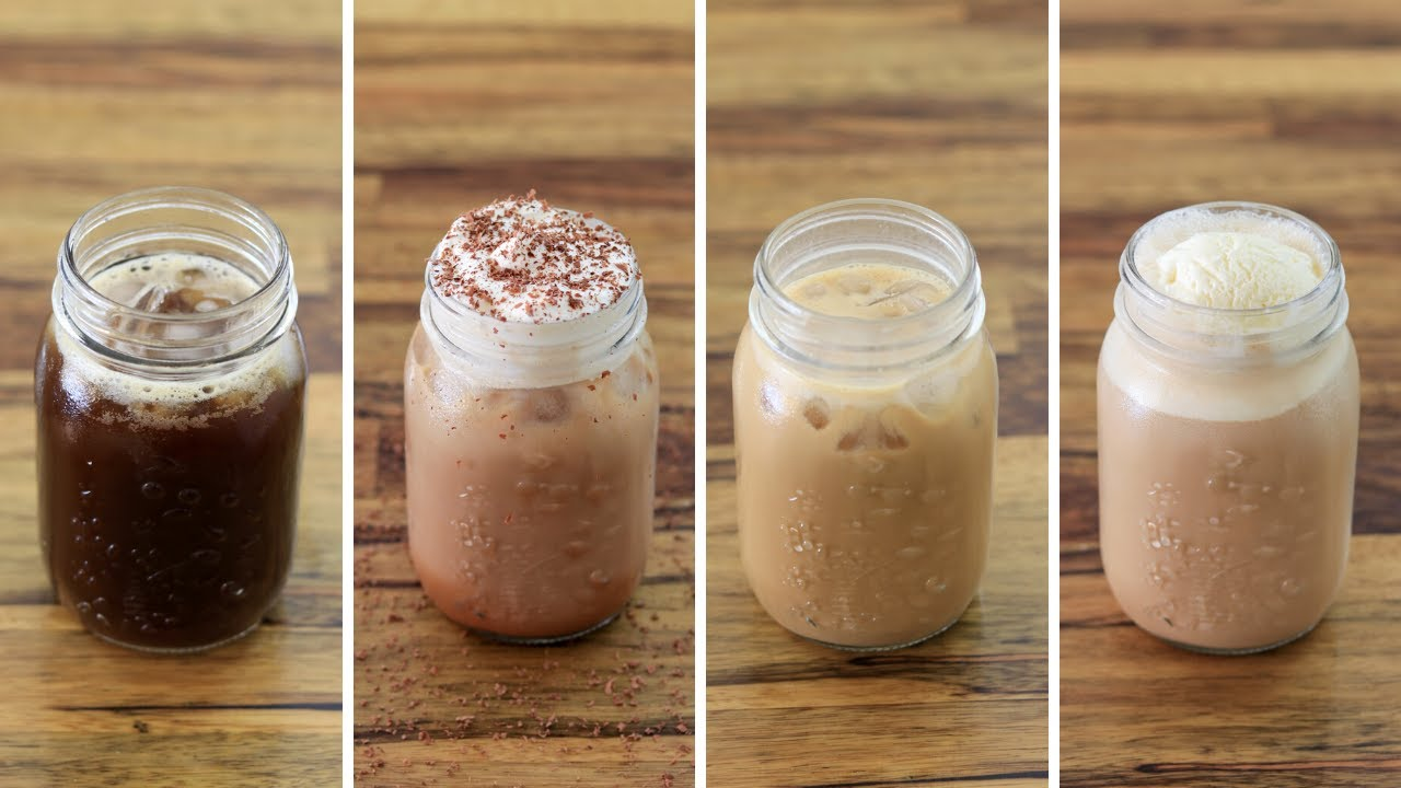Iced Coffee 4 Easy And Delicious Recipes Youtube