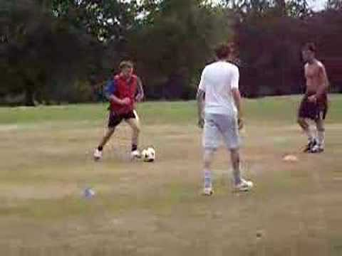 Crown Celtic football training