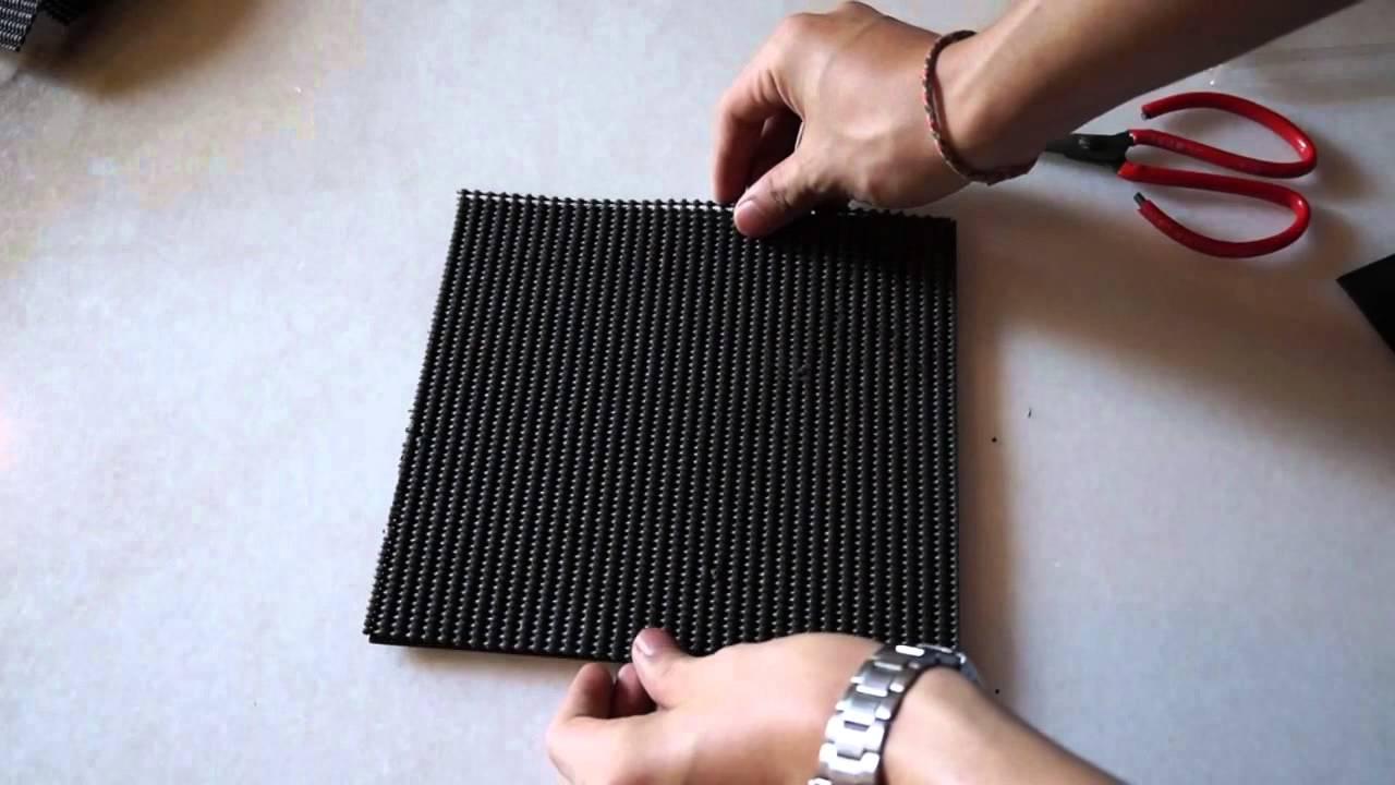 Le DIY: Homemade SLIM studio monitor isolation pad