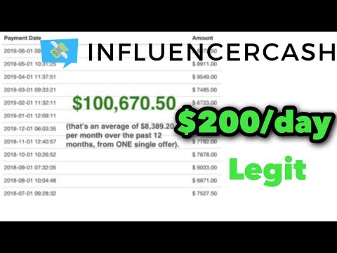 InfluencerCash The Legit Way To Make Money With Social Media