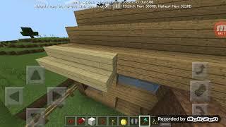 Membuat kandang bebek part3 map rohidgame Minecraft survival #7