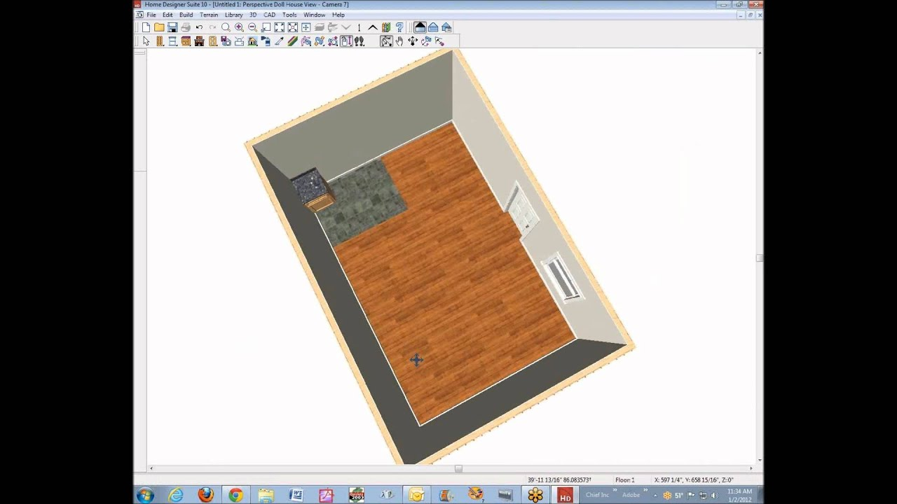 introduction to home designer suite - youtube