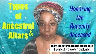 Types of Ancestor Altars & How to Honor the Recently Deceased