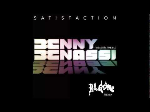 Benny Benassi Presents The Biz   Satisfaction RL Grime Remix  Art
