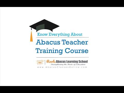 Abacus Teacher Training Course