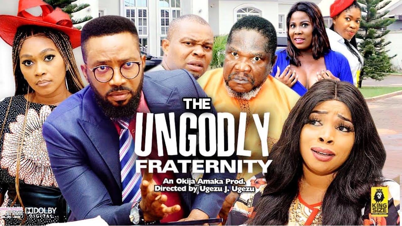 Download THE UNGODLY FRATERNITY   Trending New Movie Fredrick Leonard 2021 Latest Nigerian  Movie Full HD