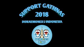 Support Gathnas Doraemoners indonesia regional Bogor (meet and greet dubber doraemon DKK)