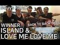 [TRASH FANBOYS] WINNER - ISLAND & LOVE ME LOVE ME (5Guys MV REACT)