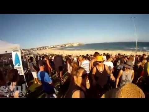 Bondi Boardriders Oct 2014 with Soul of Sydney guest programming music