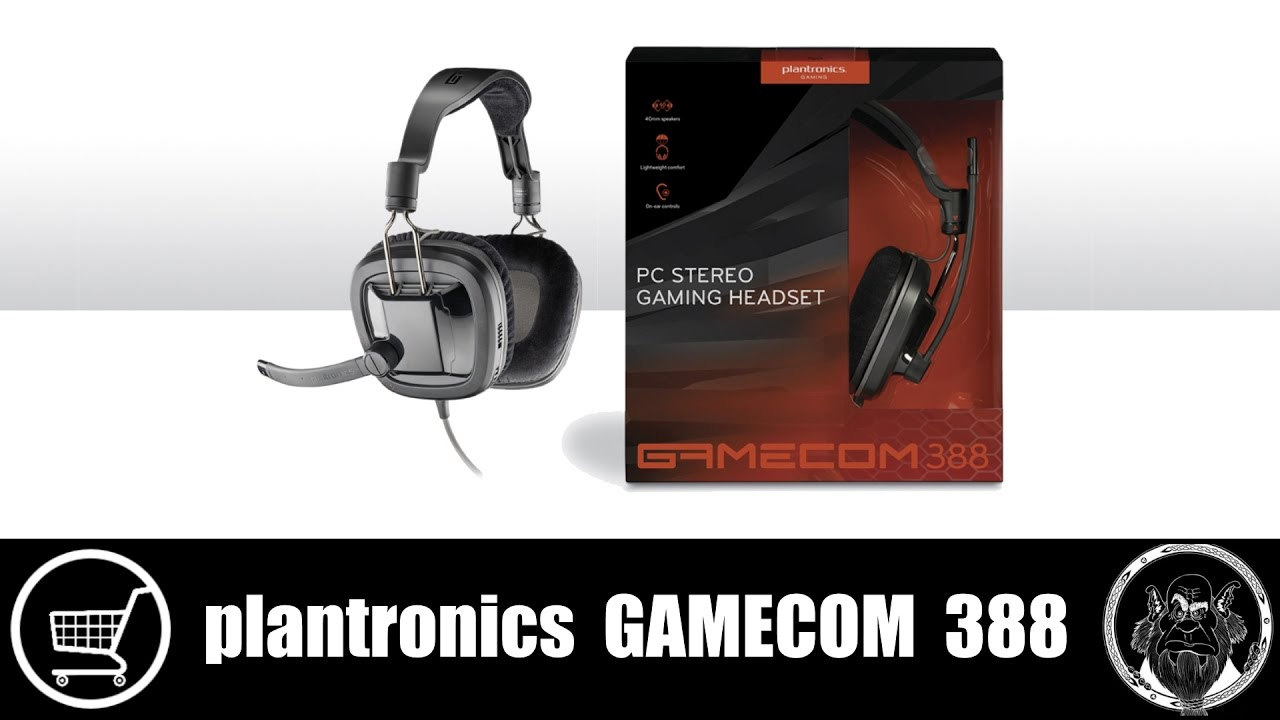 Plantronics Gamecom 380 Gaming Headset [Review & Microphone Test .