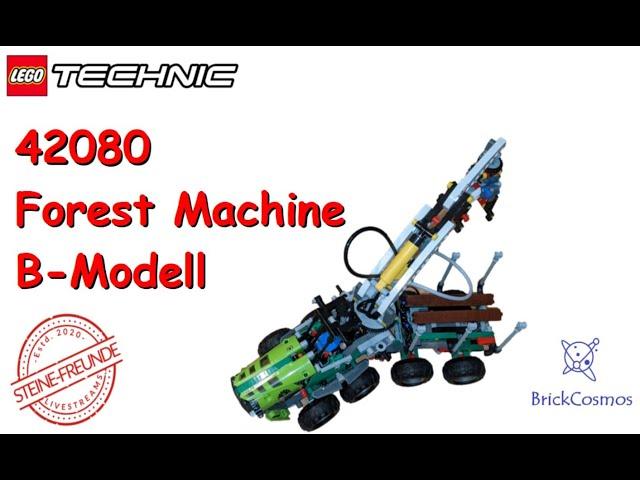 Lego Technic Forest Machine B-Modell 42080