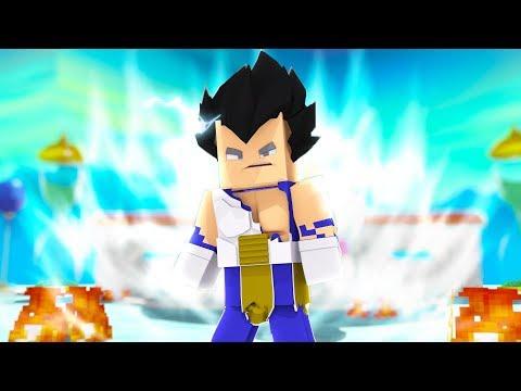 Minecraft Who's Your Family? VEGETA LIMIT BREAK OLHOS DE PRATA ( Dragon Ball Super )