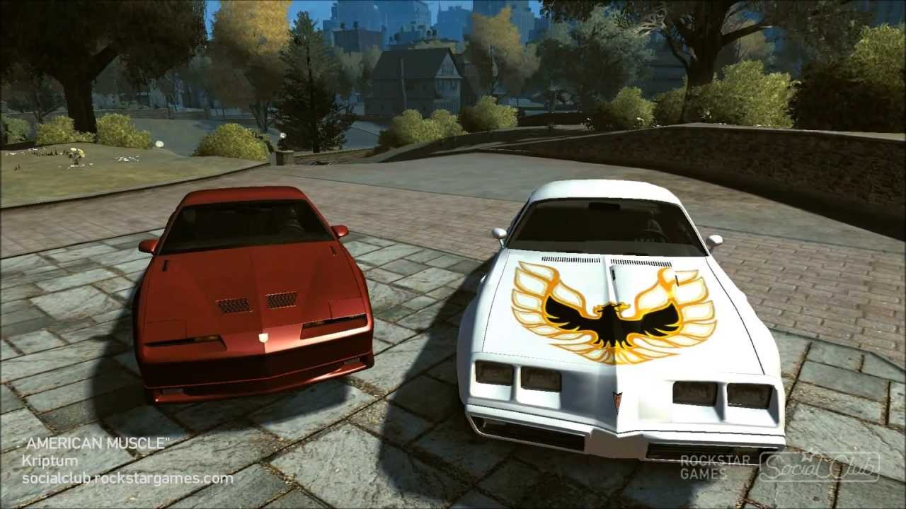 gta iv 1980 pontiac turbo transam vs pontiac firebird. Black Bedroom Furniture Sets. Home Design Ideas