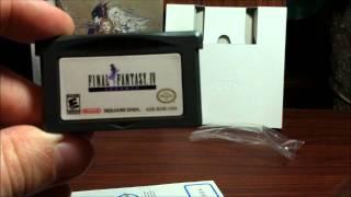 Final Fantasy IV Advance (Nintendo GBA) | Unboxing 42 | HD
