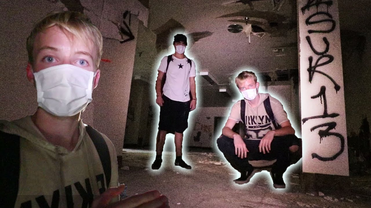 Get Air Victorville >> EXPLORING A HAUNTED ABANDONED HOSPITAL | (chased out ...