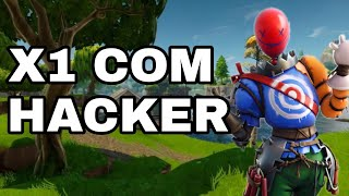 X1 with Hacker in the Fortnite Battle Royale (Trollagem)