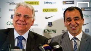 Roberto Martinez's first Everton press conference