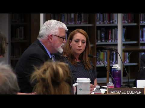 Board of Education meeting - July 2 2018