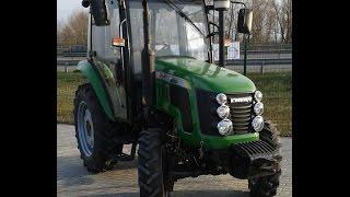 Купить Трактор Chery-504 /Чери-504/ с кабиной, Китай minitrak.com.ua