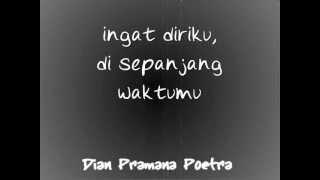 demi cintaku by Dian Pramana Poetra (Lyric)