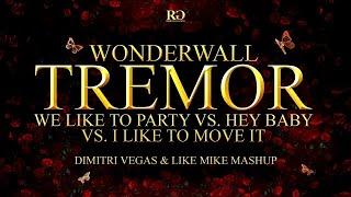 Wonderwall Tremor vs. We Like To Party vs. Hey Baby vs. I Li...
