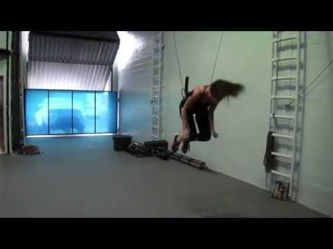 Stunt Training Wire work