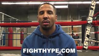 ANDRE WARD RECALLS FIRST TIME HE SAW FLOYD MAYWEATHER; GETS DEEP ABOUT BEING APPRECIATED