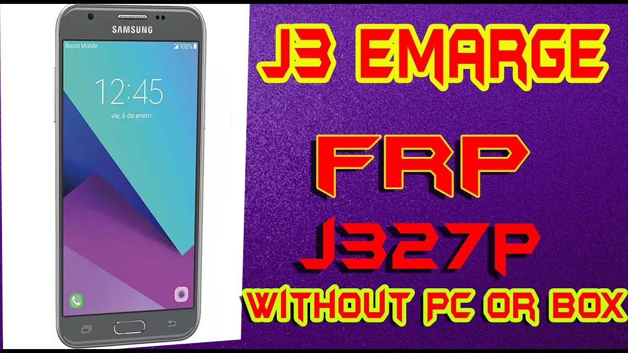 J327p U3 Boot