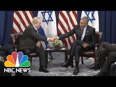 President Obama, PM Netanyahu: US And Israel Have 'Unbreakable'  Bond | NBC News