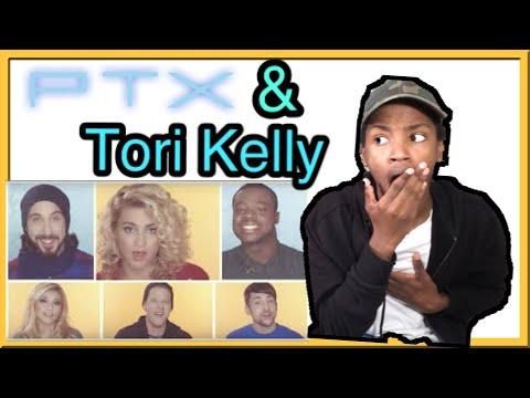 Pentatonix & Tori Kelly - Winter Wonderlands/Don't Worry Be Happy Reaction