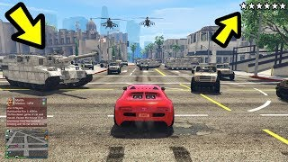 You Can Get More than 5 Stars in GTA 5! (Sixth Star)