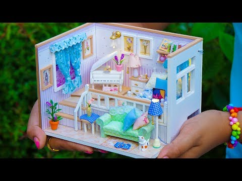 DIY Sweet Home Miniature Dollhouse