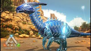 砂漠マップでメカ恐竜を捕まえる! 今回はボス生物に挑むために必要な、アーティファクトと 呼ばれるアイテムを回収すべく洞窟を探索します!(新メカ恐竜の捕獲も!)