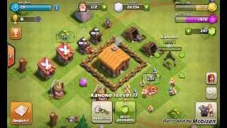 Clash of Clans #2 - Die ersten 100% ! Let's play Clash of Clans / Alex Hack