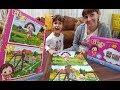 NİLOYA 2 Lİ PUZZLE OYNUYORUZ ELİF Ve LERA İLE YARIŞIYORUZ Eğlenceli Çocuk Videosu mp3