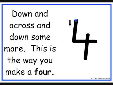 wwwk 3teacherresourcescom writing numbers rhyme