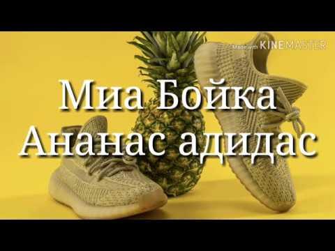 Караоке Миа Бойка - Ананас Адидас (текст песни)