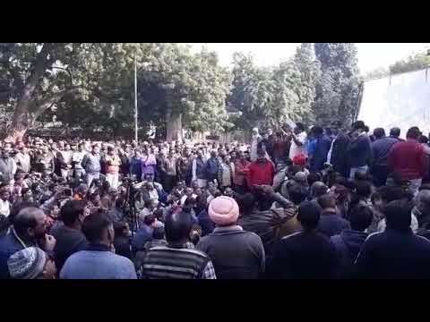 26.12.2018-  All India Cable tv Operator Protest at Delhi Jantar Mantar